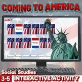 Ellis Island Upper Elementary Digital Escape Room Immigration