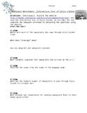 Ellis Island Webquest and Writing Activity