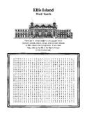 Ellis Island Word Search