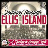 Ellis Island Immigration Unit - Immigration 4th Grade - Coming to America