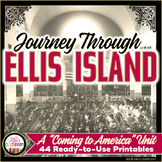 Immigration Unit: Ellis Island Activities - Reading Passages - Coming to America