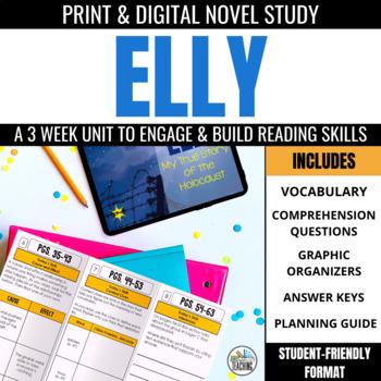 Elly: My True Story of the Holocaust Foldable Novel Study Unit
