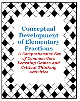 Elementary Fractions Grades 2 to 4: Centers, Games and Fun Activities