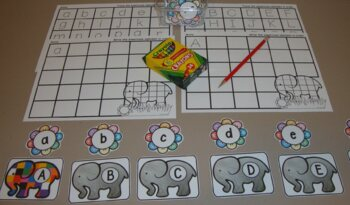 Elmer Centers Activities Elephant Book Companion Math Literacy Centers Patchwork