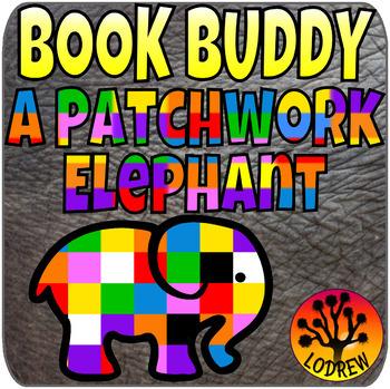 Elmer Book Companion Math Literacy Centers Kindergarten Pr