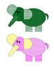Elmer Elephants Matching Game