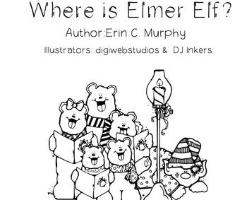 Elmer Elf Emergent Reader - Positional Words