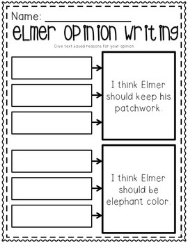 Elmer - Literacy Companion Pack