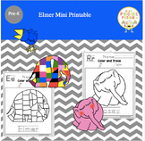 Elmer Mini Printable