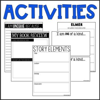 Elmer / Read-Aloud Book Companion