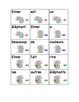 Elmer: activités de littératie
