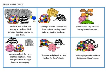 Elmer and Rose - A Speech Therapy Book Companion
