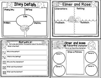 Elmer and Rose (Story Companion with QR codes for your iPad)
