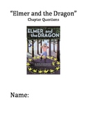 """""""Elmer and the Dragon"""" Chapter and Comprehension Questions"""