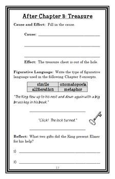 Elmer and the Dragon (Ruth Stiles Gannett) Novel Study / Comprehension