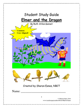 Elmer and the Dragon Student Study Guide