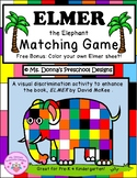 Elmer the Elephant File Folder Game