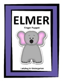 Elmer the Elephant Finger Puppet