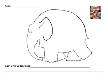 Elmer the Elephant-New Vocabulary
