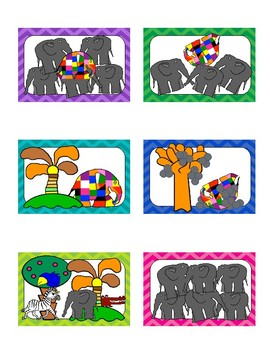 Elmer the Elephant: Retelling Sticks