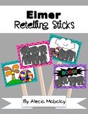 Elmer the Elephant: Retelling Sticks & Book Companion