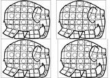 Elmer the Elephant Sticker Chart