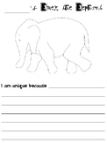 Elmer the Elephant Writing Project