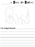 Elmer the Elephant Writing Project