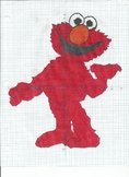 Elmo Coordinate Plane Picture