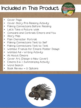 Elmore by Holly Hobbie 17 NO PREP Book Extension Activities