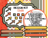 Elodie Design Kit - Cover Page Templates - Planner Templates