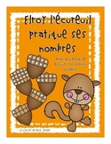 Elroy l'écureuil pratique ses nombres - Primary French Fal