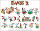 Christmas Elves 2 Cartoon Clipart