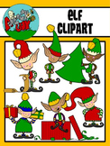 Elves / Christmas / Winter Holiday Clipart - Graphics