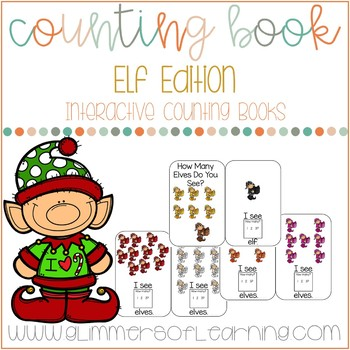 Elves Counting to 12 Interactive Book