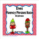 Elves Sight Word Fluency Phrases Race