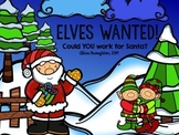 Elves Wanted!  Working for Santa Activity *FREEBIE*