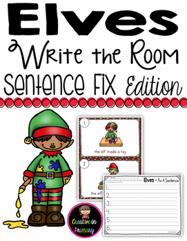 Elves Write the Room - Sentence Fix Edition