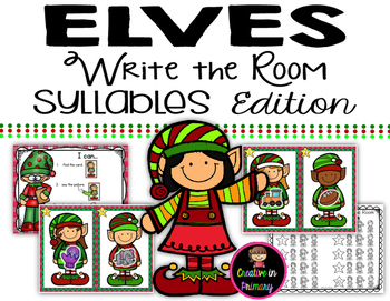 Elves Write the Room - Syllables Edition