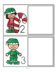 Elves and Candy Canes Literacy Math Centers Activities for Preschool and Pre-K