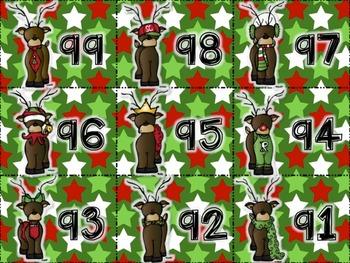 Elves and Deer a Christmas MATH game for older kids...