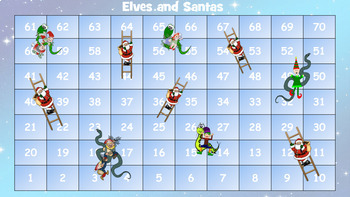 Elves and Santas - Snakes and Ladders