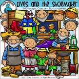 Elves and the Shoemaker Clip Art Set - Chirp Graphics