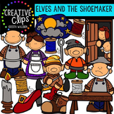 Elves and the Shoemaker {Creative Clips Digital Clipart}