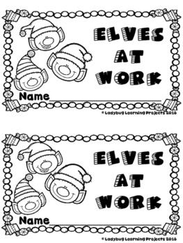 Elves at Work  (A Sight Word Emergent Reader and Teacher Lap Book)