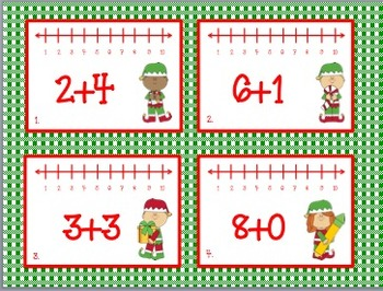 Elves on the Move (Addition & Subtraction with Number Lines)