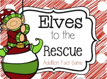 Elves to the Rescue Addition Fact Game