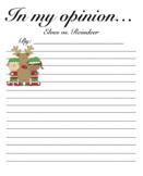 Elves vs. Reindeer (Opinion Writing)
