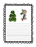 Christmas Stationery-Elves writing paper