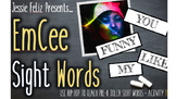 EmCee Dolch Sight Words Pre-K Activity Two (PowerPoint, Music & Fun)
